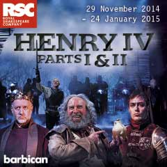 Henry IV Part One at the Barbican Theatre
