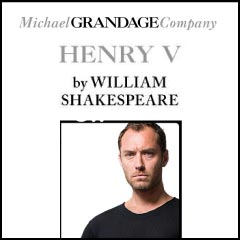 Henry V | Michael Grandage Company at the Noel Coward Theatre starring Jude Law