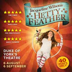 Competition: Win a family ticket to see Hetty Feather!