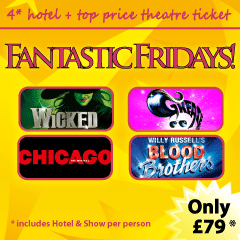 Press Release: Launch of Fantastic Fridays London Hotel and Theatre promotion