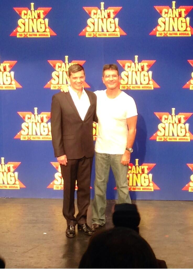 Nigel Harman to star as Simon Cowell in I Can't Sing! The X Factor Musical