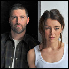 Matthew Fox and Olivia Williams in In A Forest, Dark and Deep