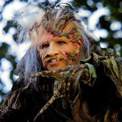 Hannah Waddingham as the Witch in Into the Woods