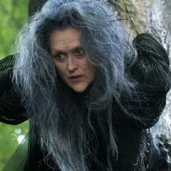 Meryl Streep as The Witch in Into The Woods