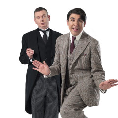 John Gordon Sinclair and James Lance in Jeeves and Wooster