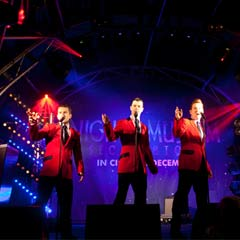 Jersey Boys light up Regent's Street, and extend run at Piccadilly Theatre