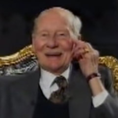 Sir John Gielgud, interviewed by Jeremy Paxman at the Old Vic