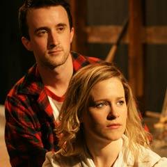 John and Jen at the Landour Theatre