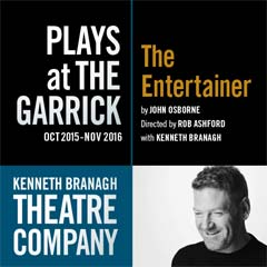 Kenneth Branagh's The Entertainer at the Garrick Theatre