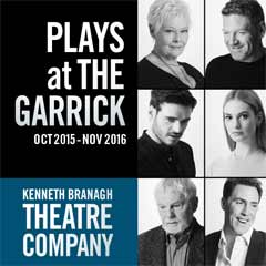 Kenneth Branagh's season of plays at the Garrick