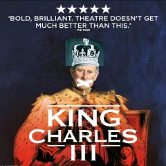 King Charles III at the Wyndham's Theatre