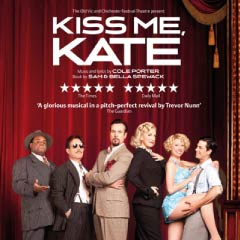 Kiss Me, Kate at the Old Vic Theatre starring Adam Garcia and Hannah Waddingham
