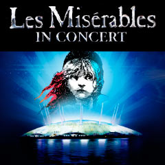 Les Miserables 25th Anniversary concert at the O2 Arena