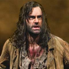 Ramin Karimloo in Les Miserables, on the shortlist for a 2012 Olivier Audience Award