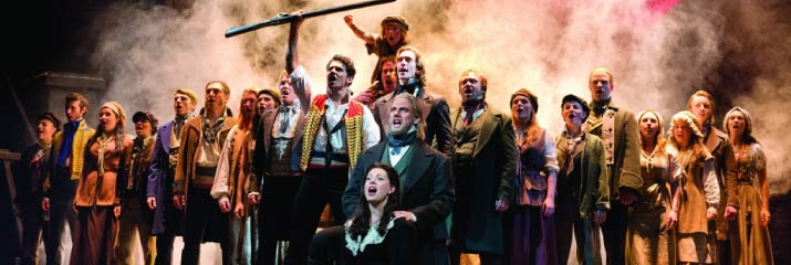 Les Miserables at the Queen's Theatre