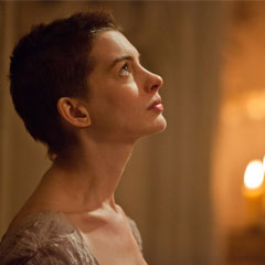Anne Hathaway in Les Miserables - the Movie