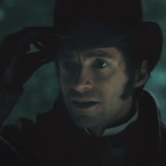 Hugh Jackman in Les Miserables - the Movie