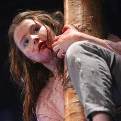 Let The Right One In at the Apollo Theatre. Photo by Roy Tan