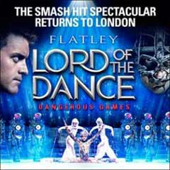 Lord of the Dance: Dangerous Games starring Michael Flatley at the London Palladium