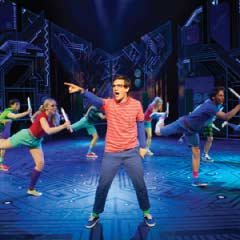 Aaron Sidwell as Michael Dork in Loserville