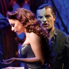 Celia Graham and Ramin Karimloo in Love Never Dies