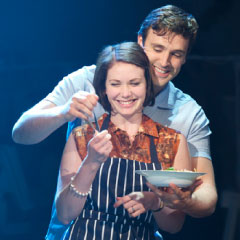 Emma Williams and Michael Xavier in Love Story in Chichester