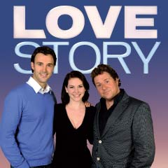 The stars of Love Story, Michael Xavier and Emma Williams, and producer Michael Ball.  Photo: Craig Sugden