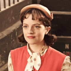 Elisabeth Moss as Peggy in AMC's Mad Men