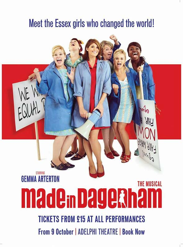 New poster for Made in Dagenham at the Adelphi Theatre
