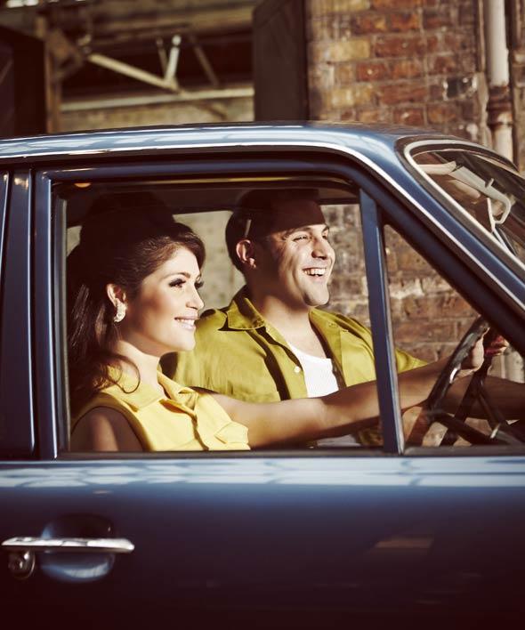 Gemma Arterton and Adrian der Gregorian in Made in Dagenham The Musical
