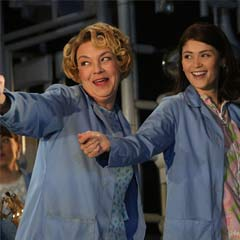 Sophie Stanton and Gemma Arterton in Made in Dagenham. Photo: Roy Tan