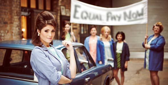 Gemma Arterton in Made in Dagenham The Musical. Photo: Alex James