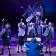 Matilda The Musical - one of the shows up for a 2013 Olivier Audience Award
