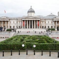 Maze in Trafalgar Square