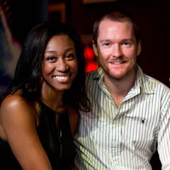 Beverley Knight and Killian Donnelly at the press launch of Memphis The Musical