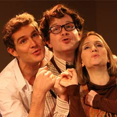 Merrily We Roll Along at the Menier Chocolate Factory. Photo: Roy Tan
