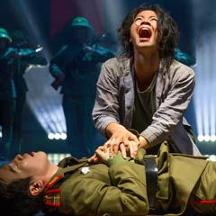 Eva Noblezada as Kim in Miss Saigon