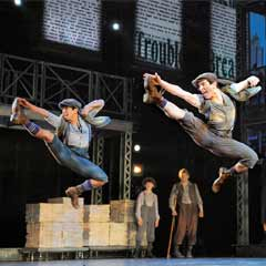 Broadway hit Newsies still aiming for a West End transfer.