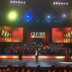 The Olivier Awards were held at the Theatre Royal Drury Lane