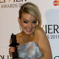 Best actress in a musical winner Sheridan Smith