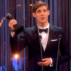 Luke Treadaway wins Best Actor