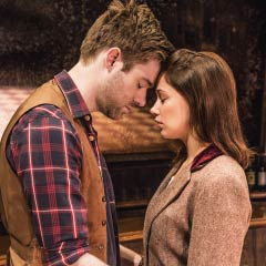 David Hunter and Jill Winternitz in ONCE