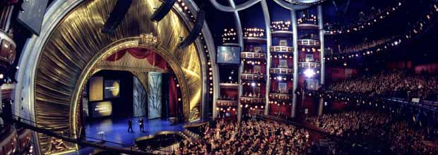 The Dolby Theater in LA - setting of this year's Oscars