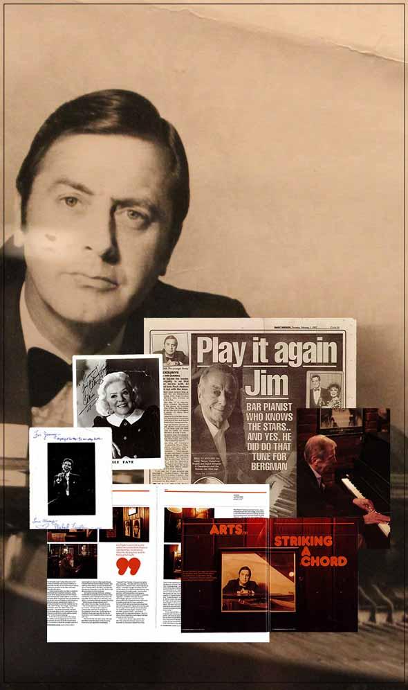 Jimmy Hardwick, montage from Joe Allen