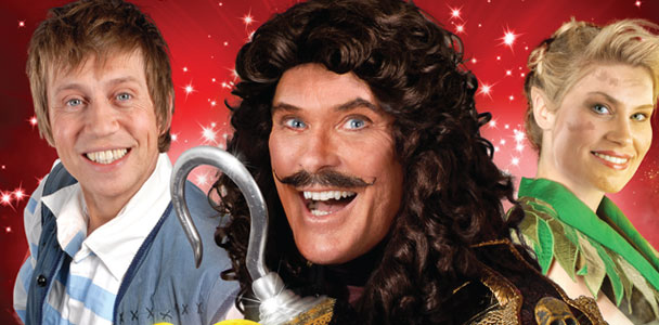 Peter Pan in Manchester starring David Hasselhoff