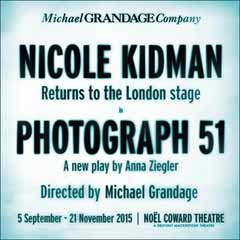 Photograph 51 starring Nicole Kidman at the Noel Coward Theatre