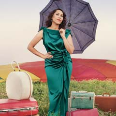 Pink Martini lead singer China Forbes