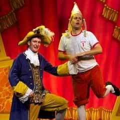 Dan and Jeff in Potted Panto