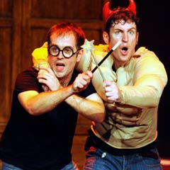 Dan & Jeff in Potted Potter