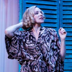 Kim Cattrall in Private Lives at the Vaudeville Theatre in 2010